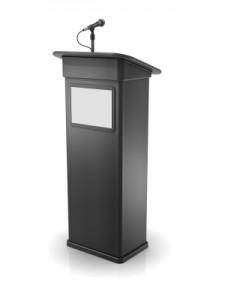 lecture-podium